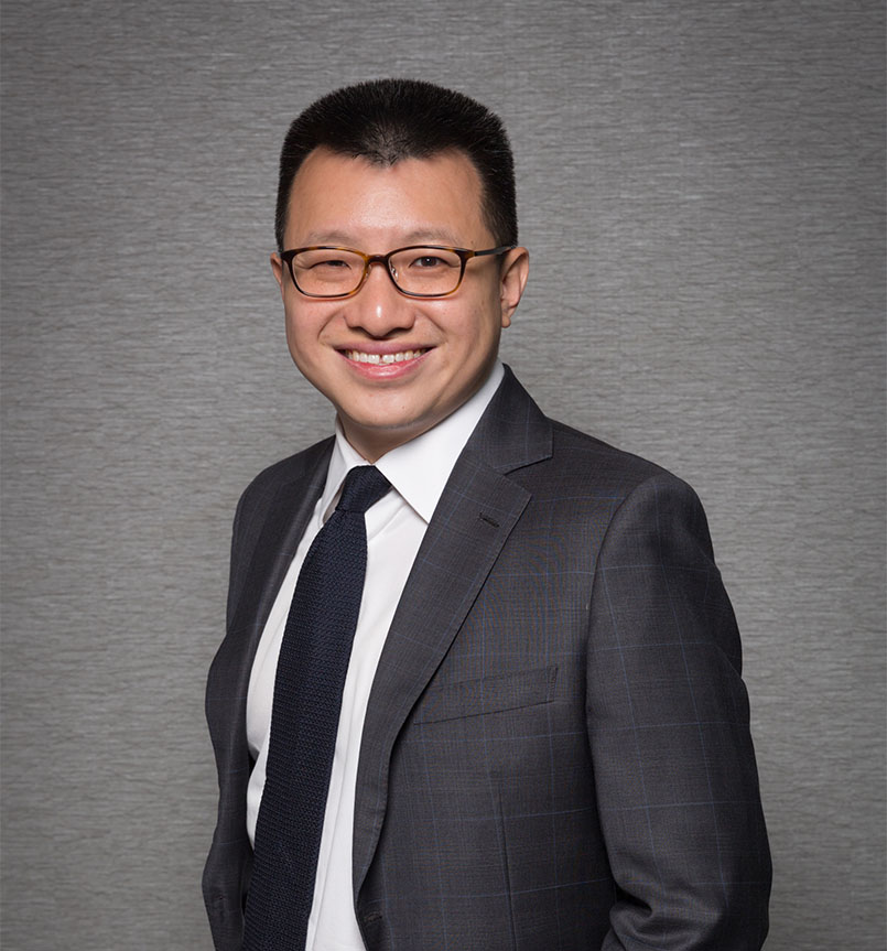 Paul Seah. Partner at TKQP